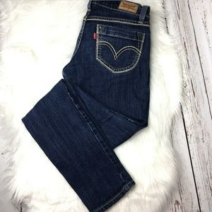 Levis 524 Too Super low jeans size 28